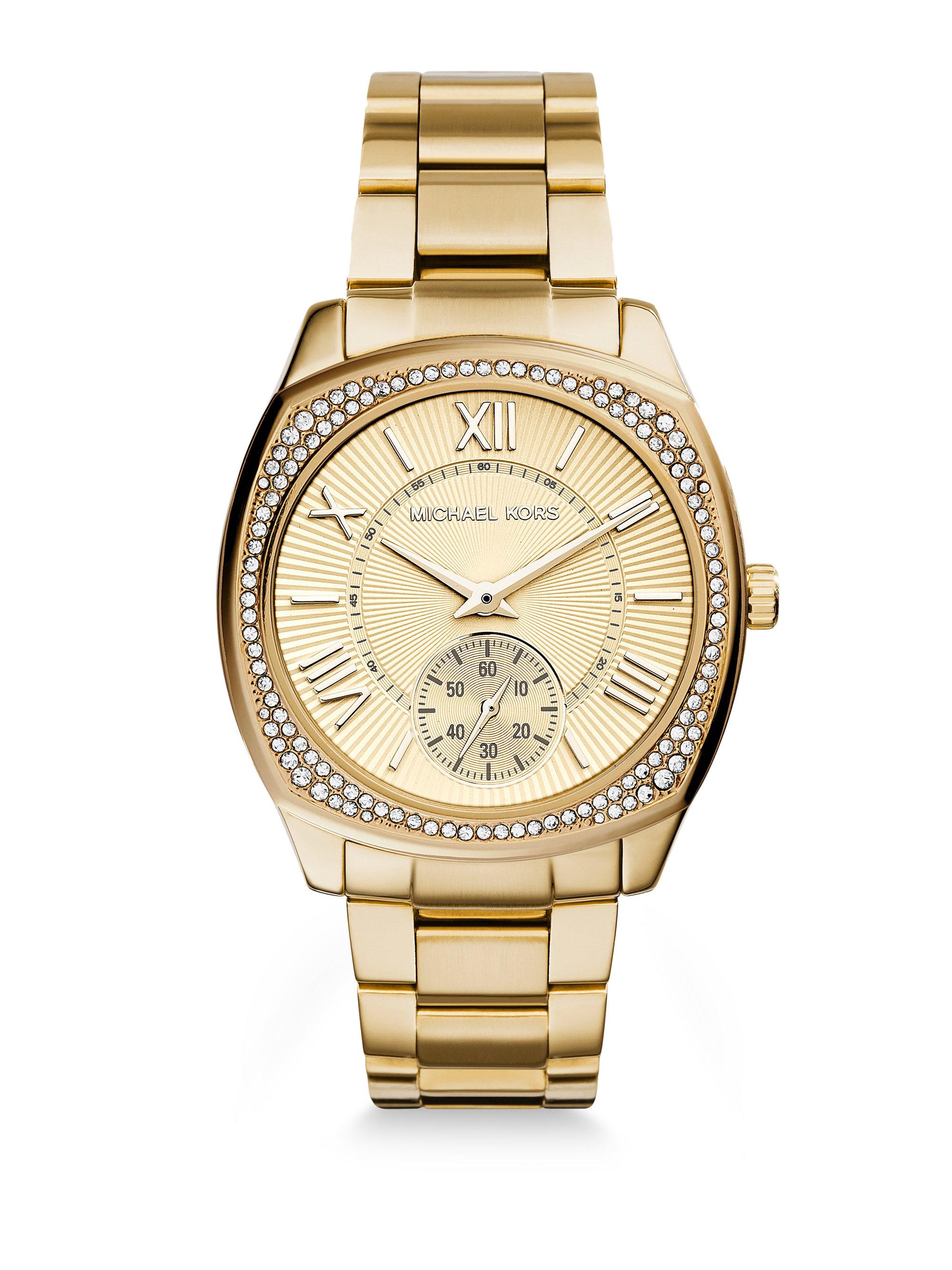 8754e5e921f9 Lyst - Michael Kors MK6134 Bryn Watch in Metallic