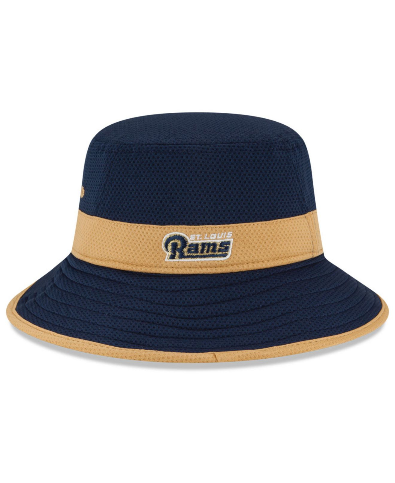 Lyst - KTZ St. Louis Rams Training Camp Reverse Bucket Hat in Blue ... 8a27692771b