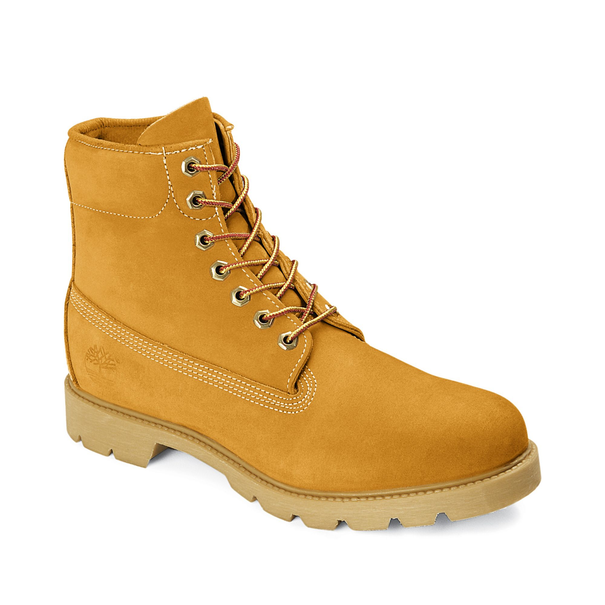 timberland 6 quot basic waterproof boots in beige for