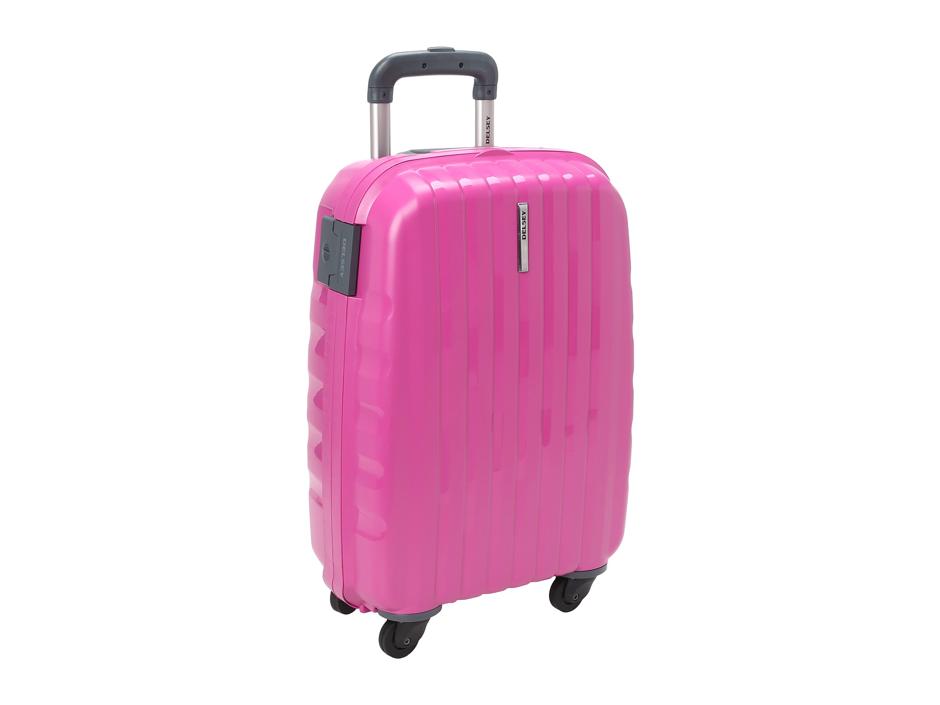 Delsey Helium Colours - 4-Wheel Carry-On Trolley in Pink | Lyst