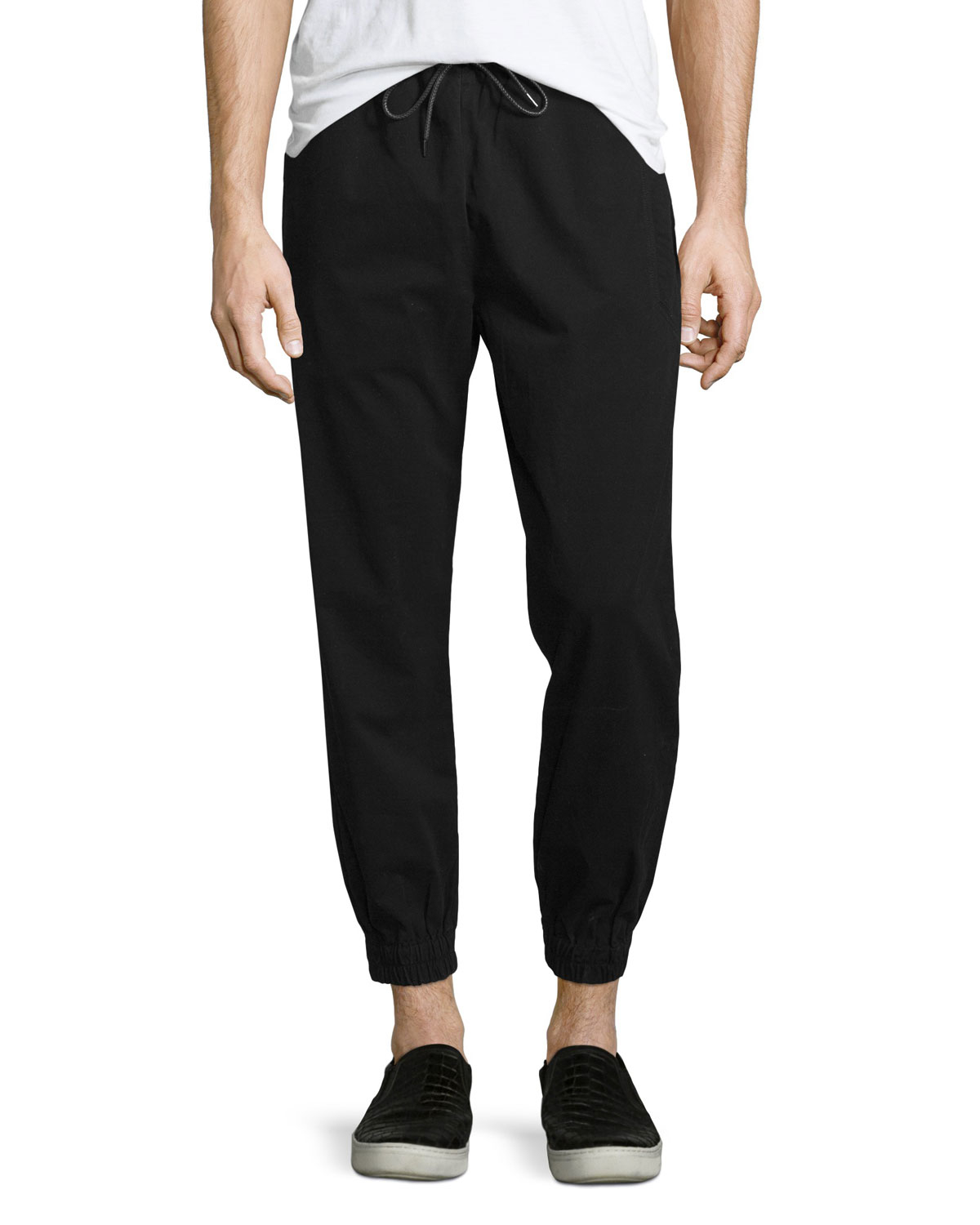 Publish Sprinter Jogger Pants. Made by California-based brand Publish exclusively for Urban Outfitters, these Sprinter Jogger Pants are roomy enough to ensure you feel relaxed and comfortable, but slim enough that you could wear them somewhere other than the gym. Purchase: $