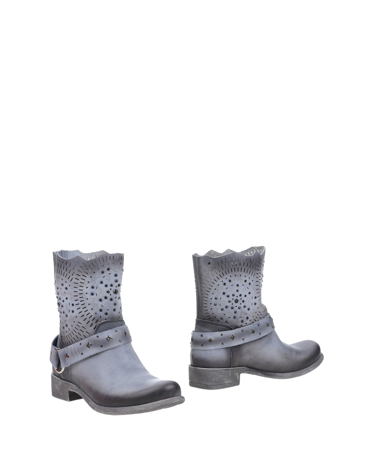cafenoir ankle boots in gray lyst. Black Bedroom Furniture Sets. Home Design Ideas