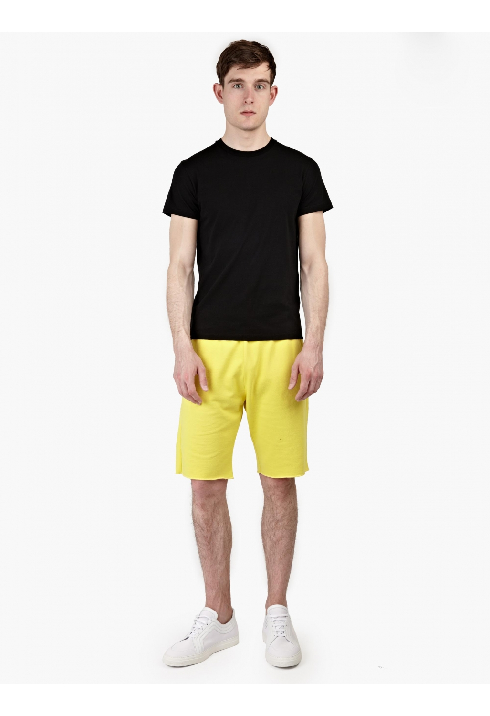 Jil sander Menu2019S Yellow Cotton-Jersey Shorts in Yellow for Men | Lyst
