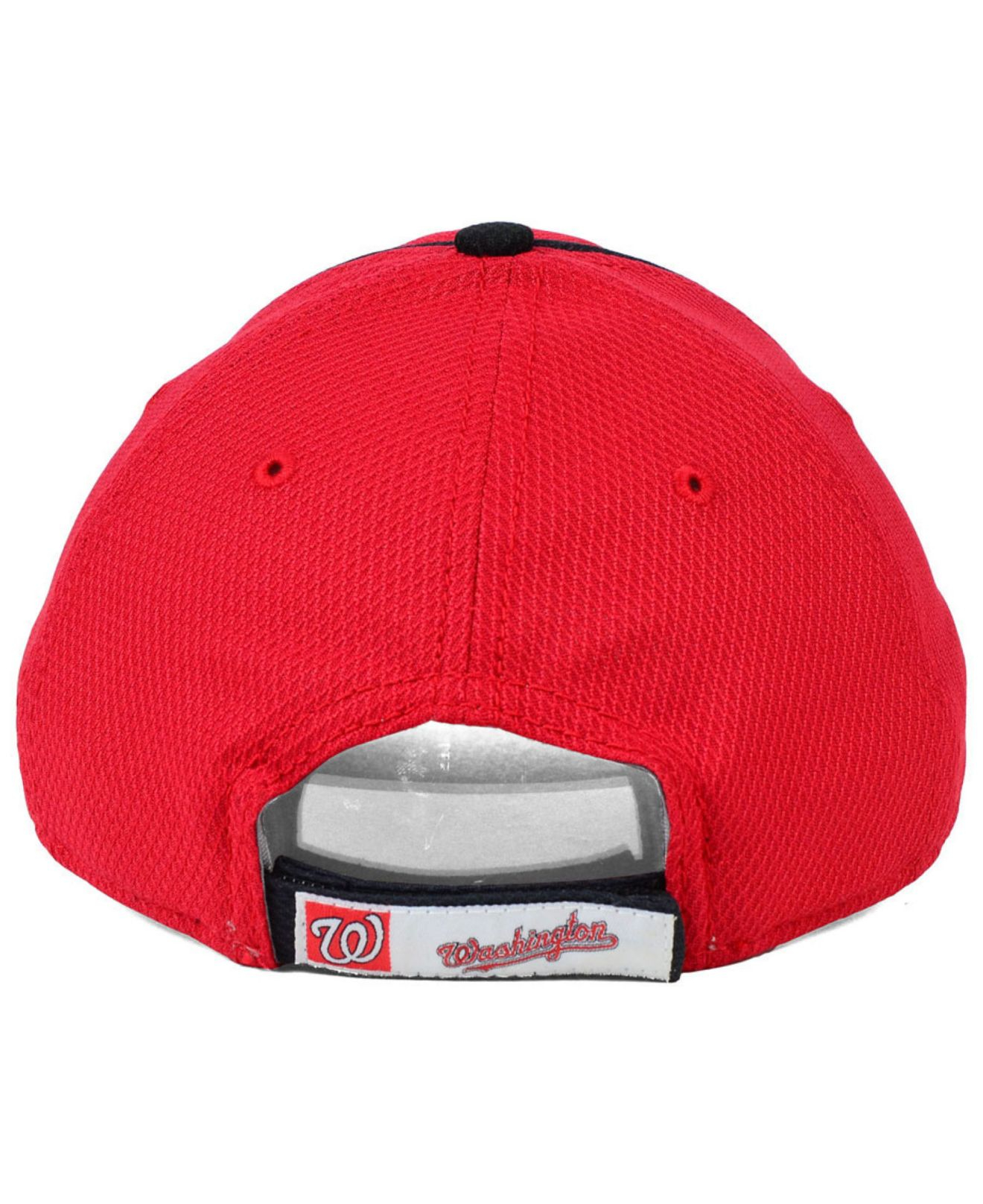 a86cd9ea328 ... reduced lyst ktz kids washington nationals junior fan wave 9forty cap in  red 07d2f c45a1