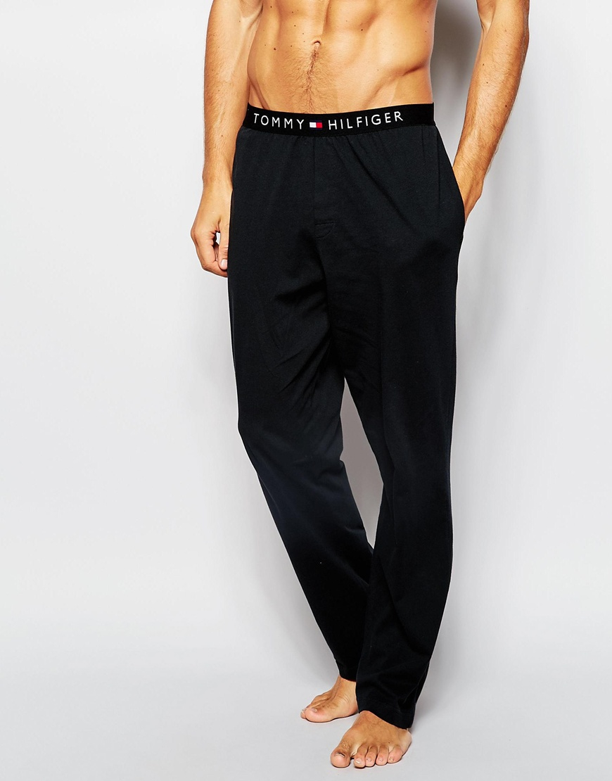 6f79ff81471b Lyst - Tommy Hilfiger Icon Cotton Lounge Pants In Regular Fit in ...
