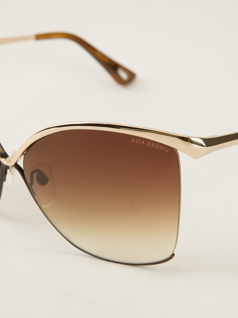 Dita eyewear Dita Exquis Sunglasses in Brown | Lyst Dita Eyewear