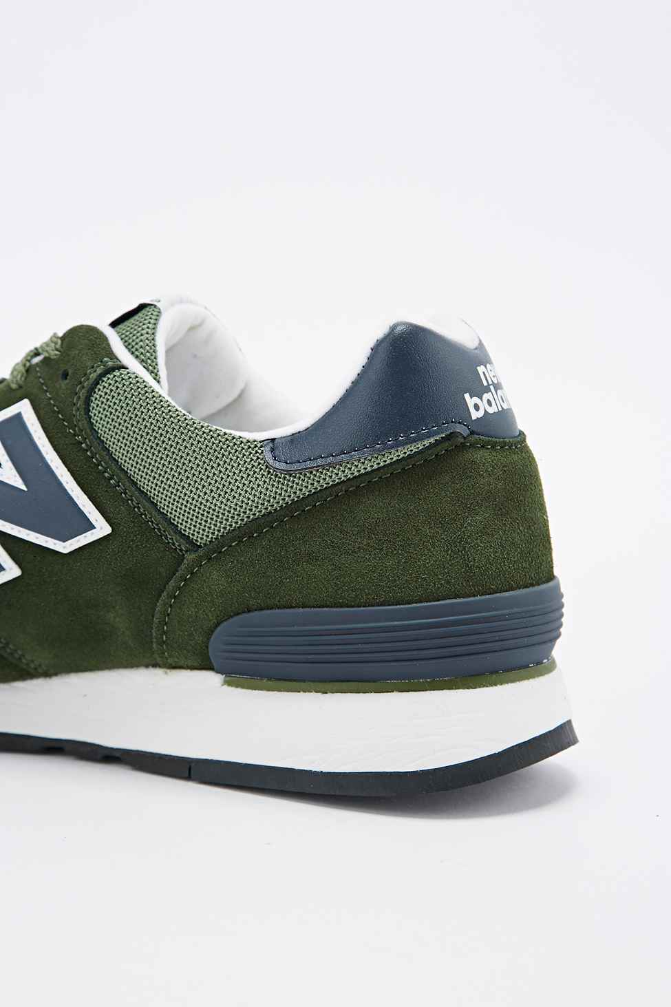 brand new 421e6 0622b New Balance 670 Made In Uk Camping Trainers In Green in ...