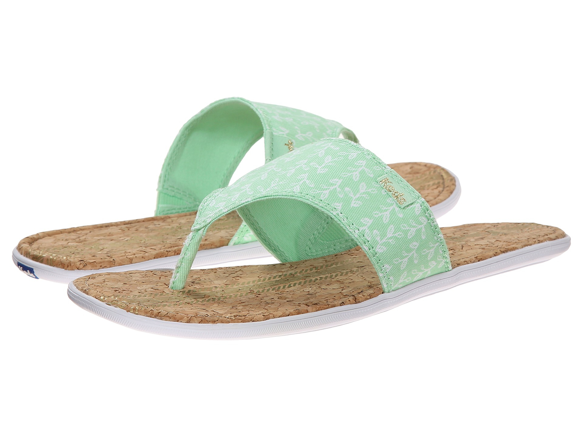 b772256aa86 Lyst keds tealight wide band thong in green jpg 1920x1440 Wide band flip  flops