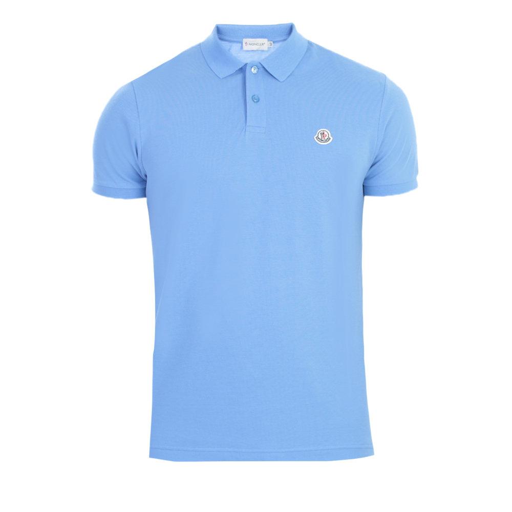 moncler blue polo