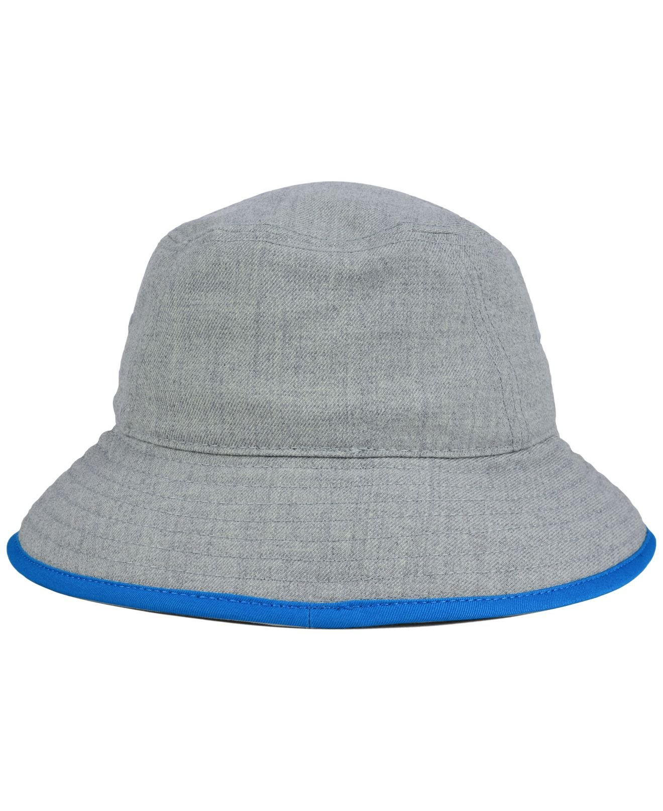 9901e10e854 ... Training Camp Visor - Lyst  stable quality 40071 08a3b Lyst - Ktz  Carolina Panthers Nfl Heather Gray Bucket Hat in ...