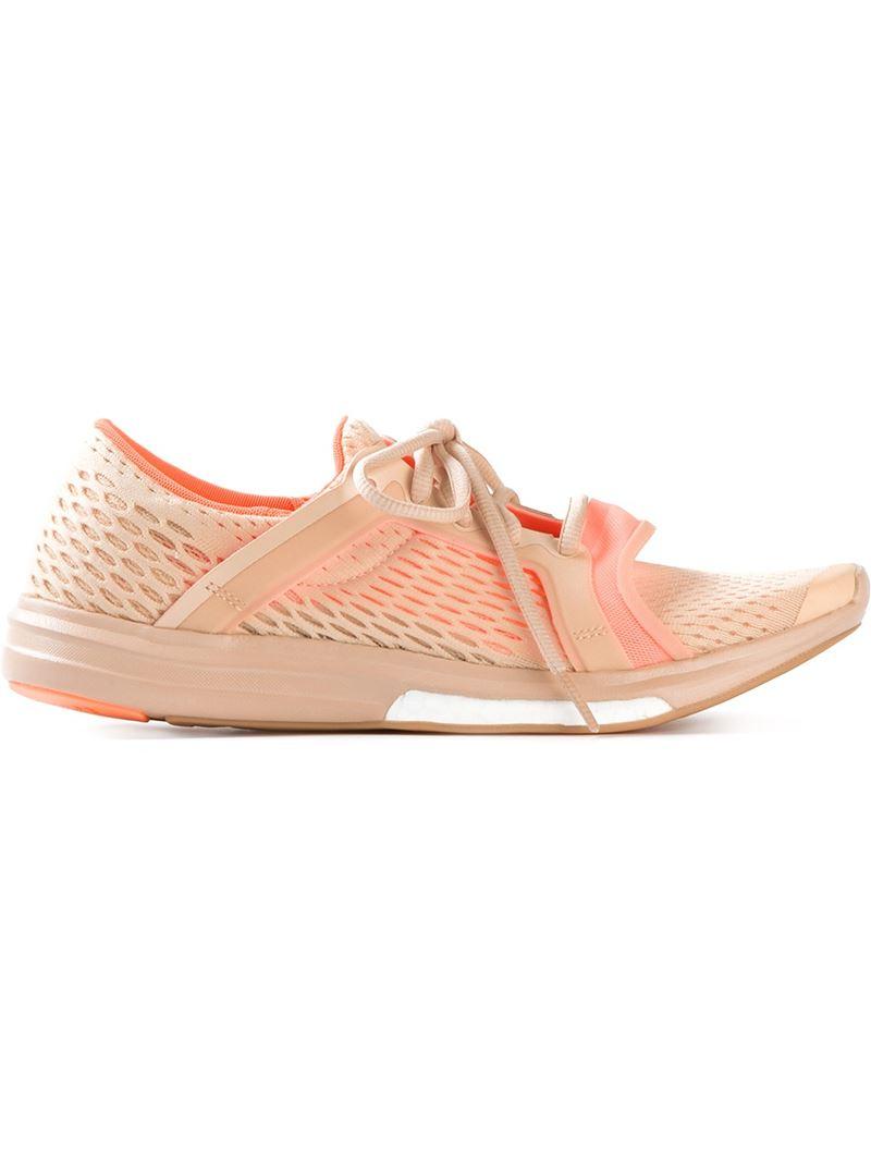 Adidas Stella by Stella Adidas McCartney 'Running CC sonic' formadores en rosa Lyst 81fc8e