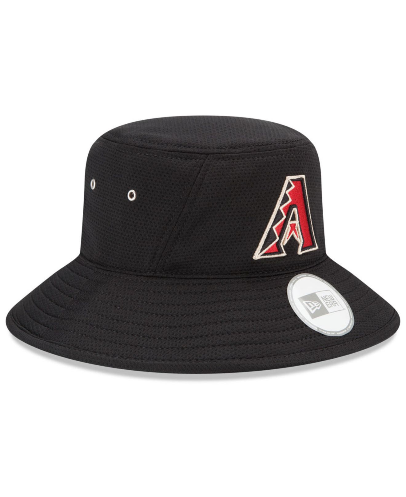 8fdeb09e659 ... sale lyst ktz arizona diamondbacks team redux bucket hat in black for  men ef88b 5fc03