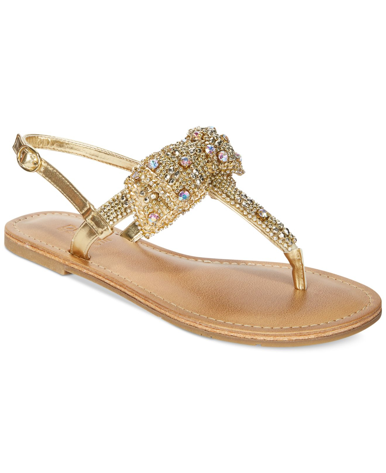 Womens rhinestone sandals