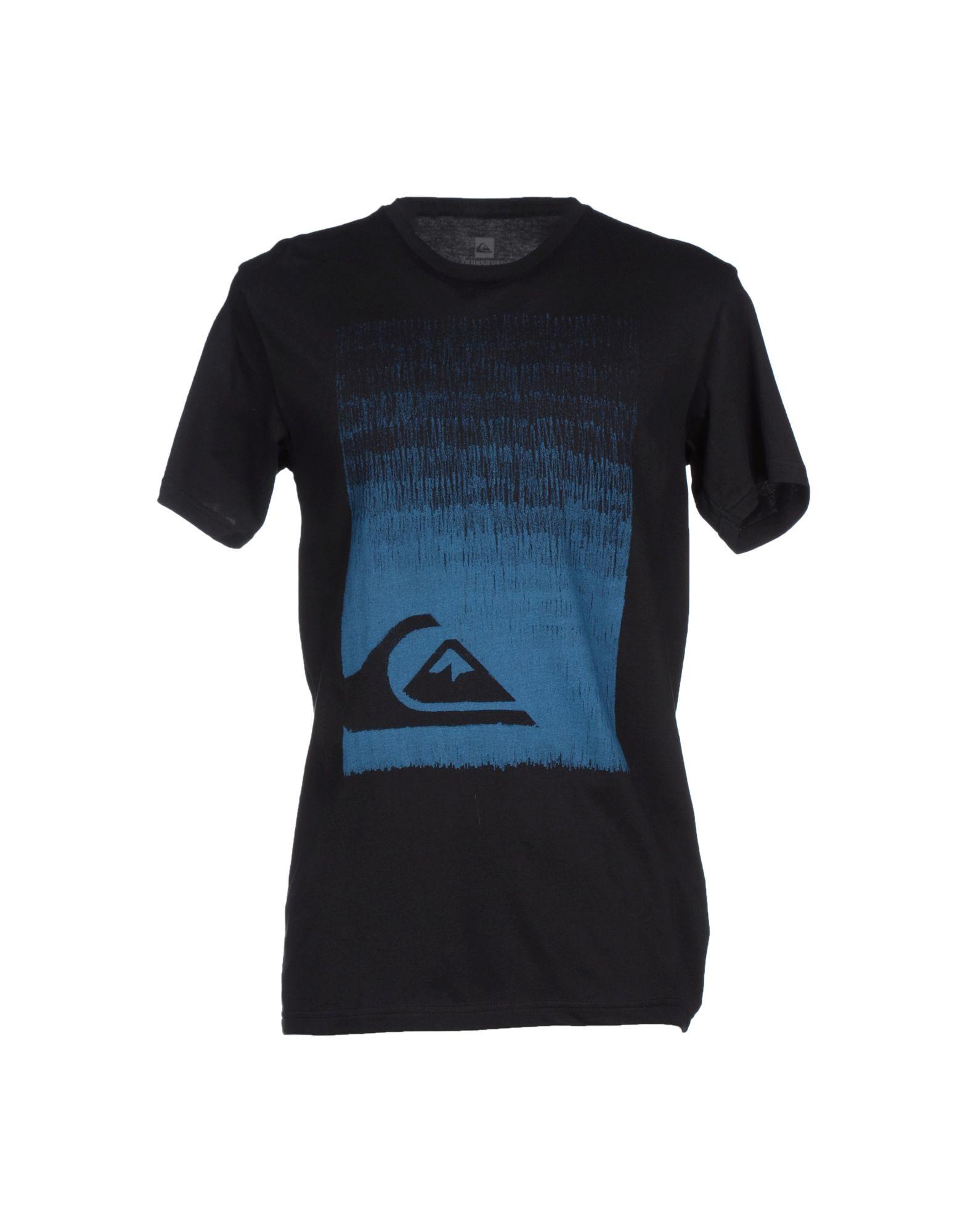 Quiksilver plain black t shirt - Quiksilver Plain Black T Shirt Black Mens Quiksilver T Shirt Gallery