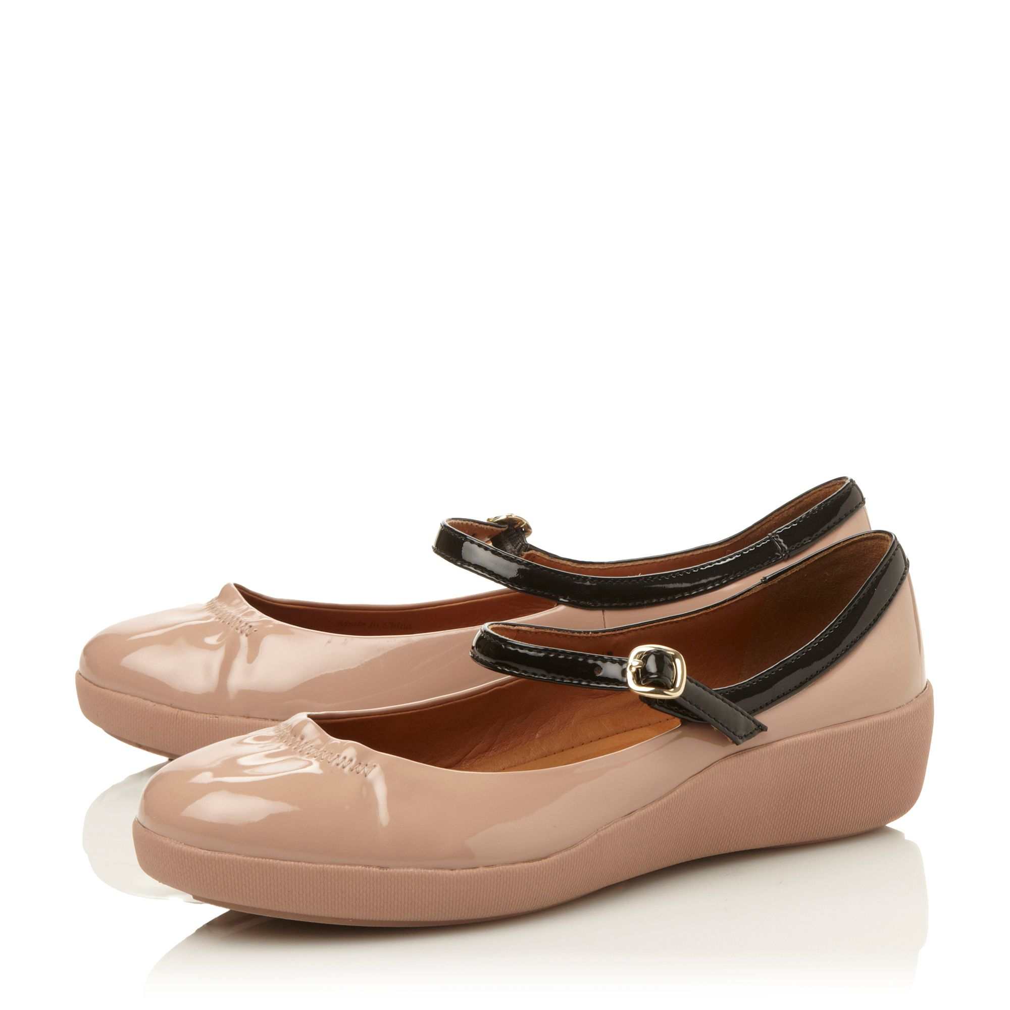 dcb81db773f1 Fitflop F Pop Mary Jane Ballerina Shoes