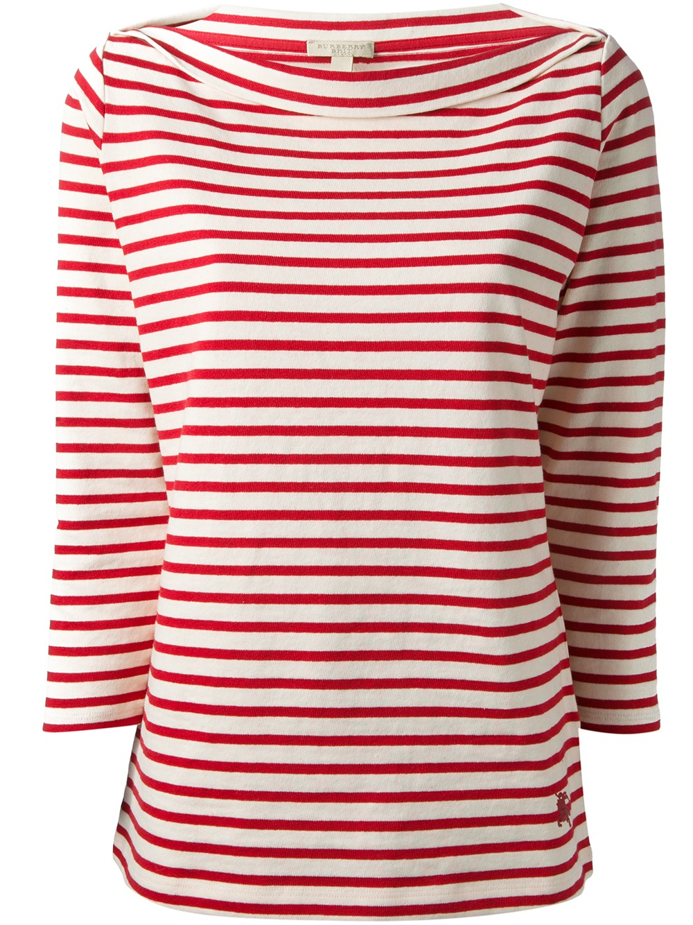 Red And White Striped Shirt Women