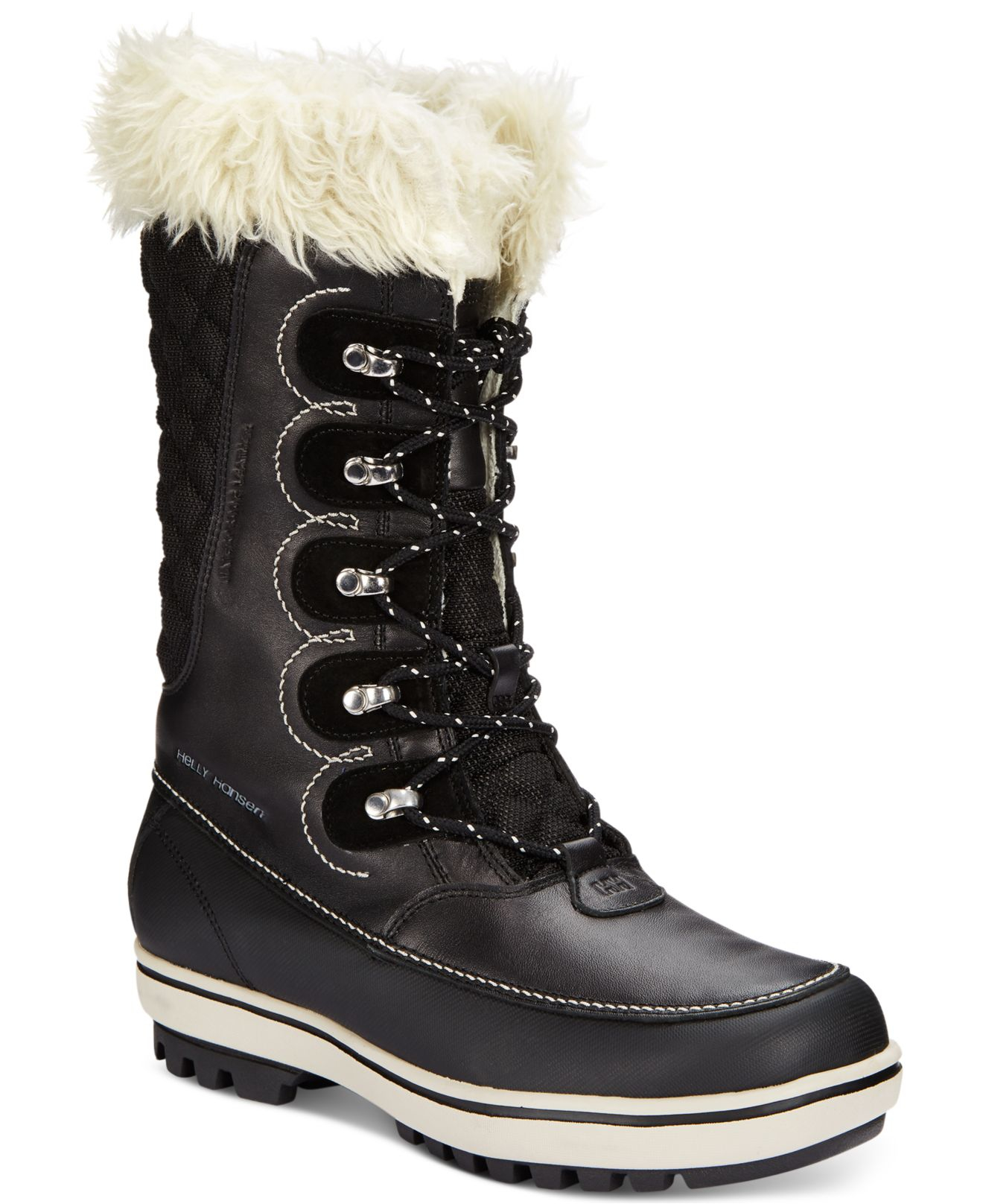 helly hansen s garibaldi faux fur cold weather boots