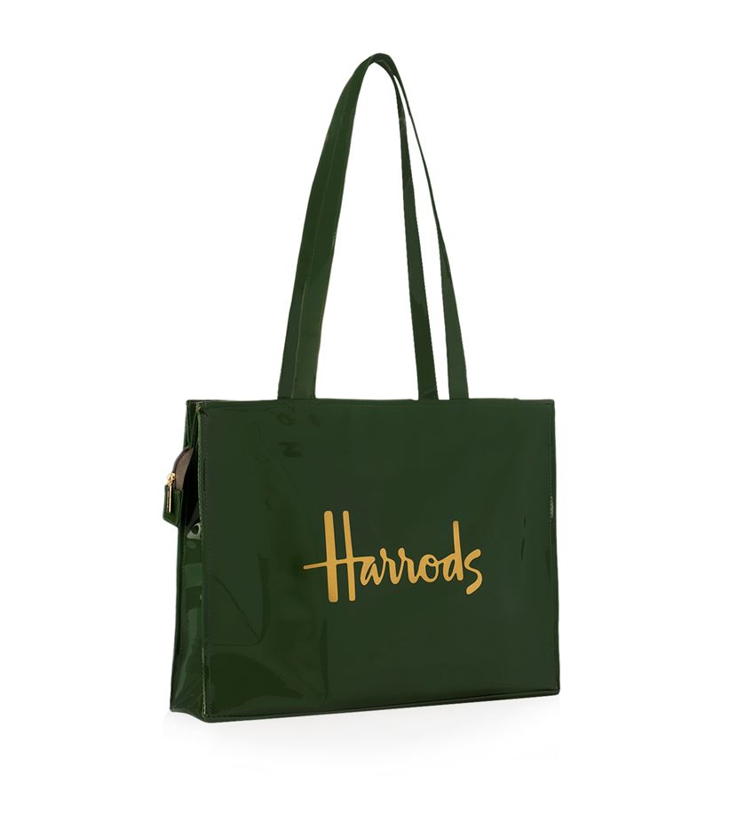 Harrods Signature Shoulder Bag In Green Lyst