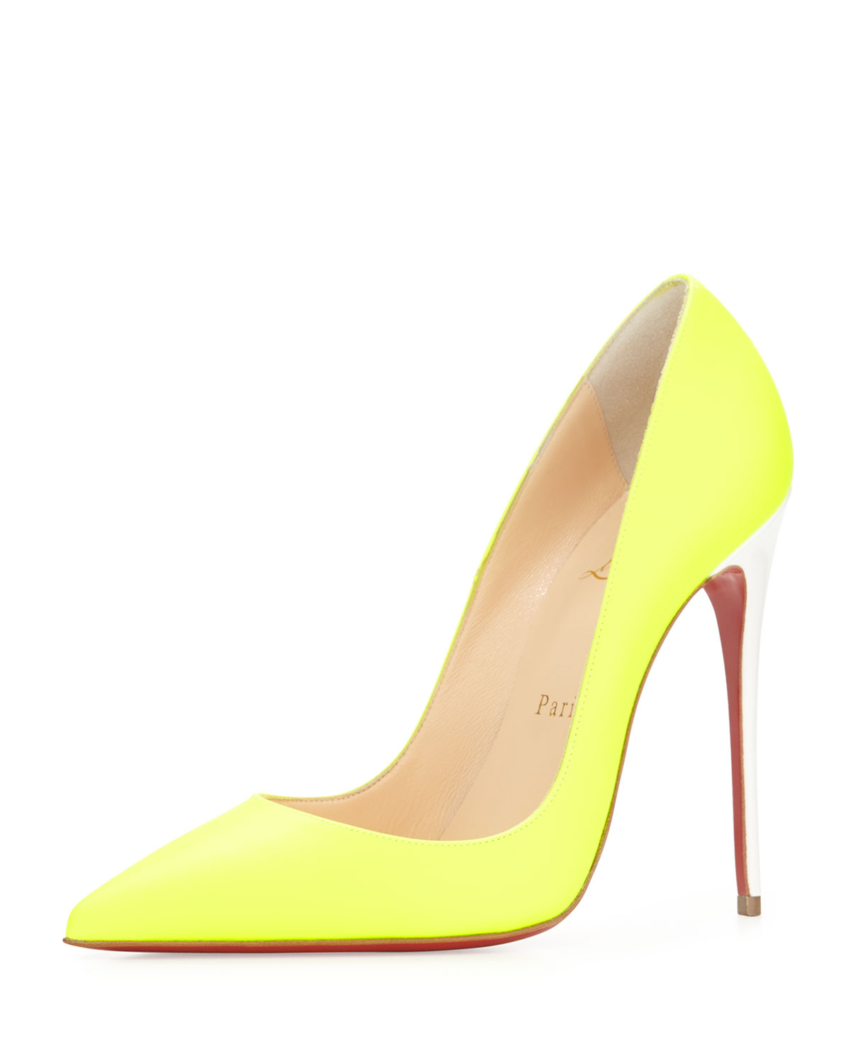christian louboutin yellow so kate