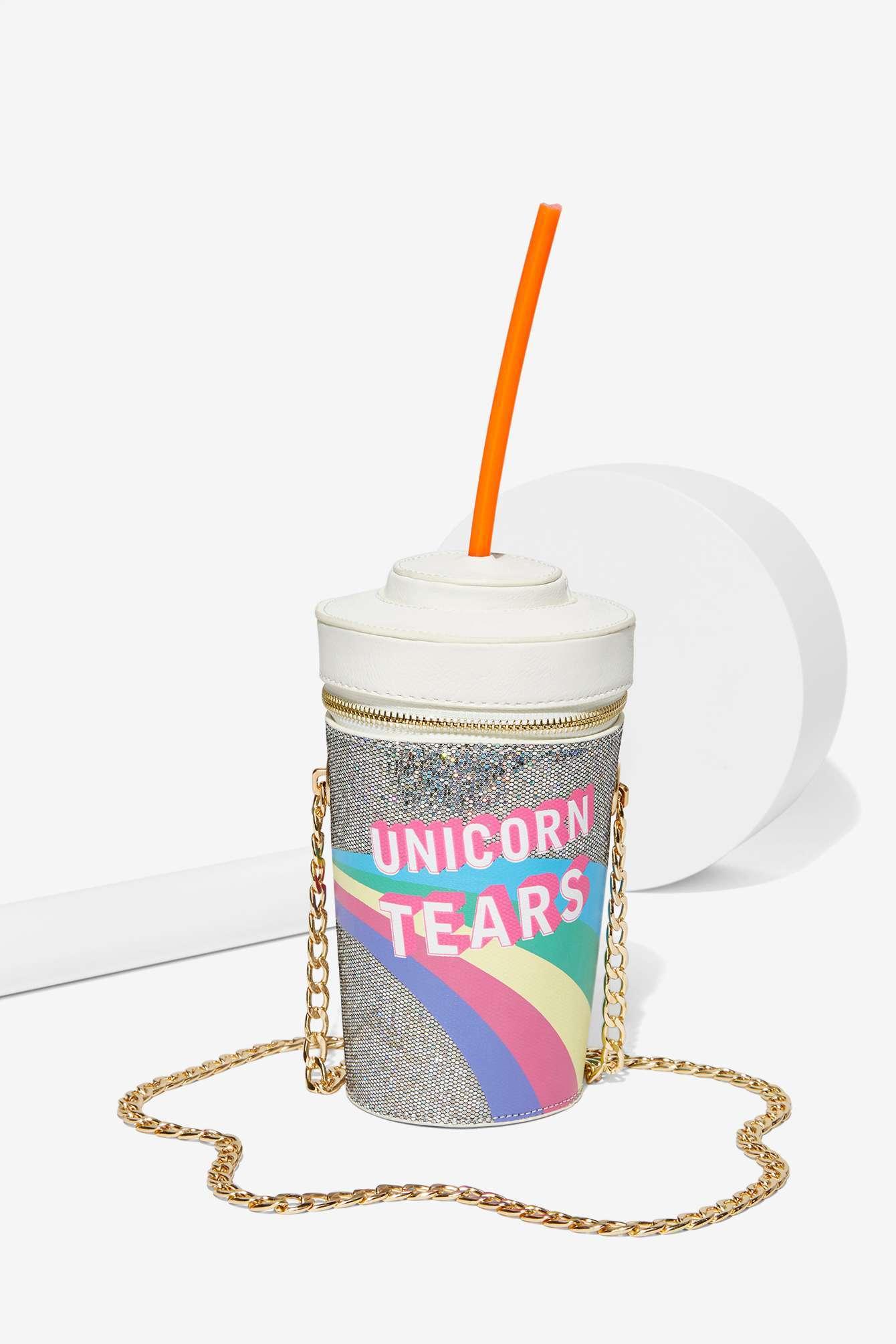 Nasty Gal Skinnydip London Unicorn Tears Bag In Natural Lyst