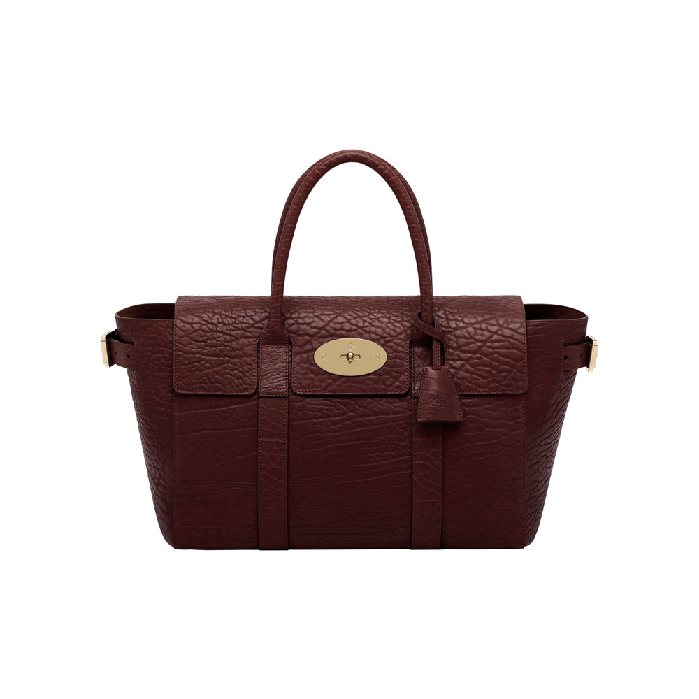 Mulberry bayswater buckle in red oxblood lyst for The bayswater