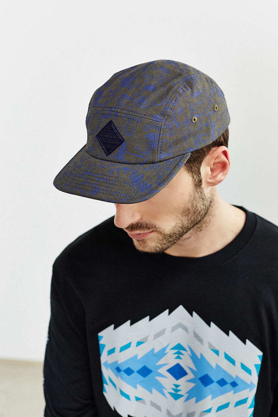 Lyst The North Face 5 Panel Baseball Hat In Black