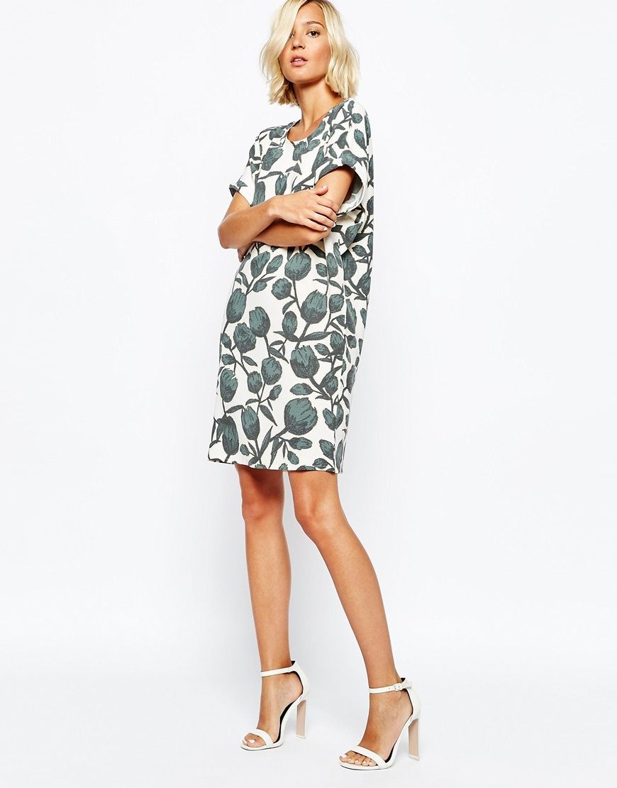 Selected Printed - Dress O8ioSs