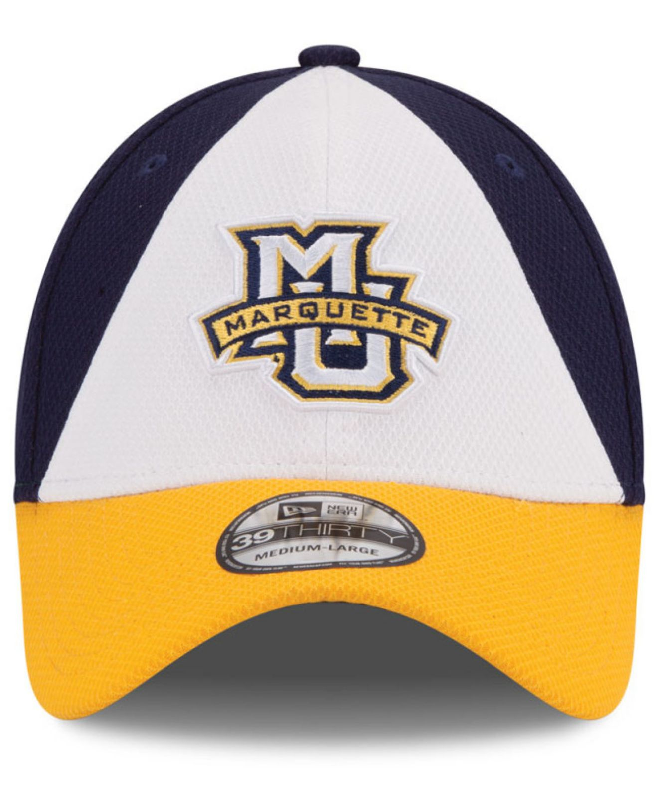 detailed look 37f78 d97f0 Lyst - KTZ Marquette Golden Eagles Game Performance 39thirty Cap in ...