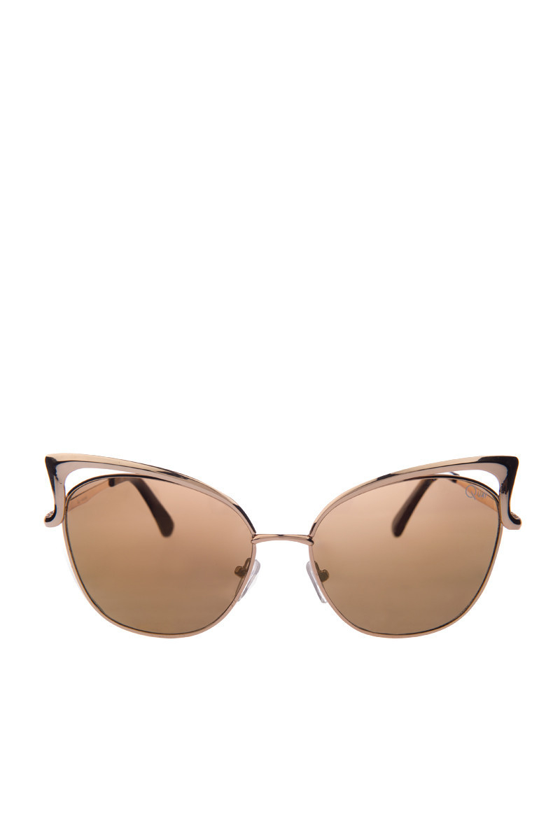 6cc8290470972 Lyst - Quay Lana Sunglasses in Metallic