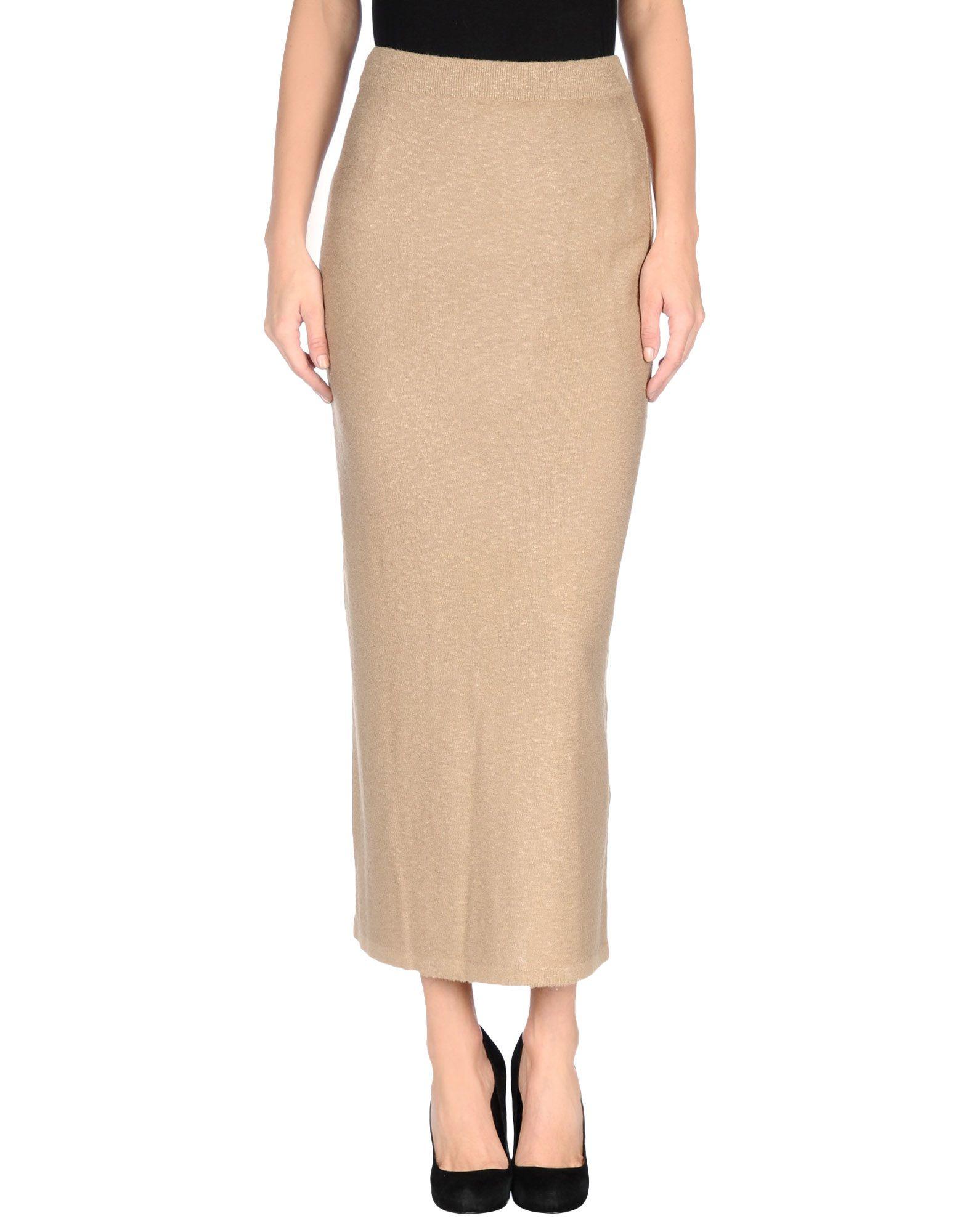 Long Beige Skirt 86