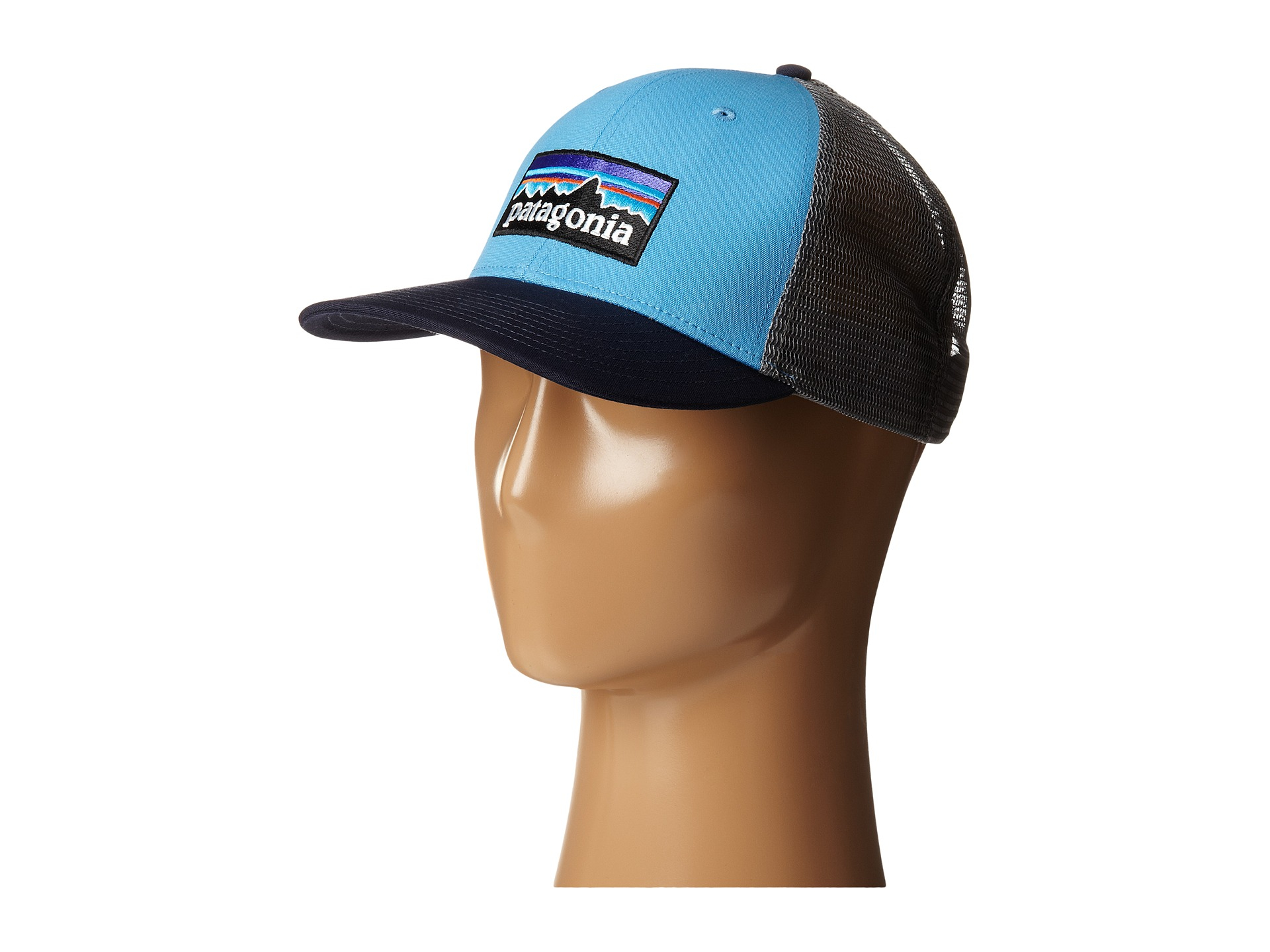 1f586929b13 Lyst - Patagonia P6 Trucker Hat in Blue for Men