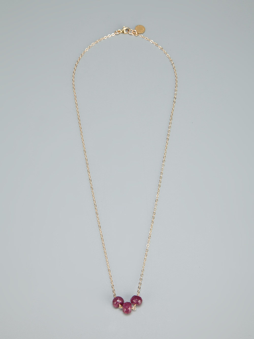 Catherine weitzman Pendant Necklace in Purple