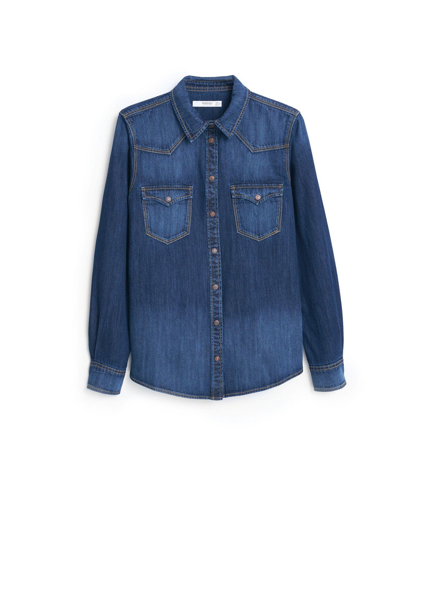 denim shirt pockets - photo #6
