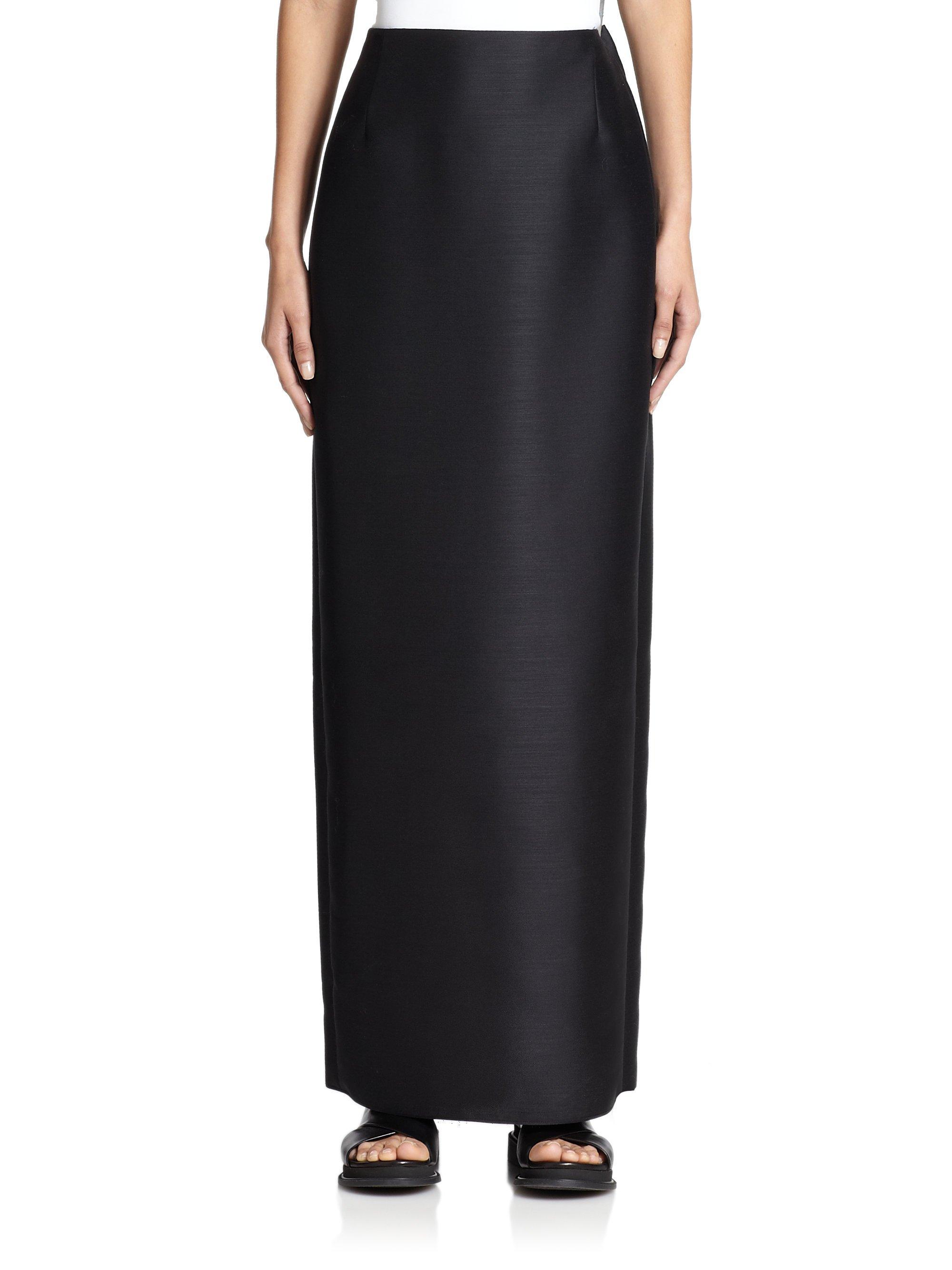 Floor Length Black Pencil Skirt Black Dresses Dressesss