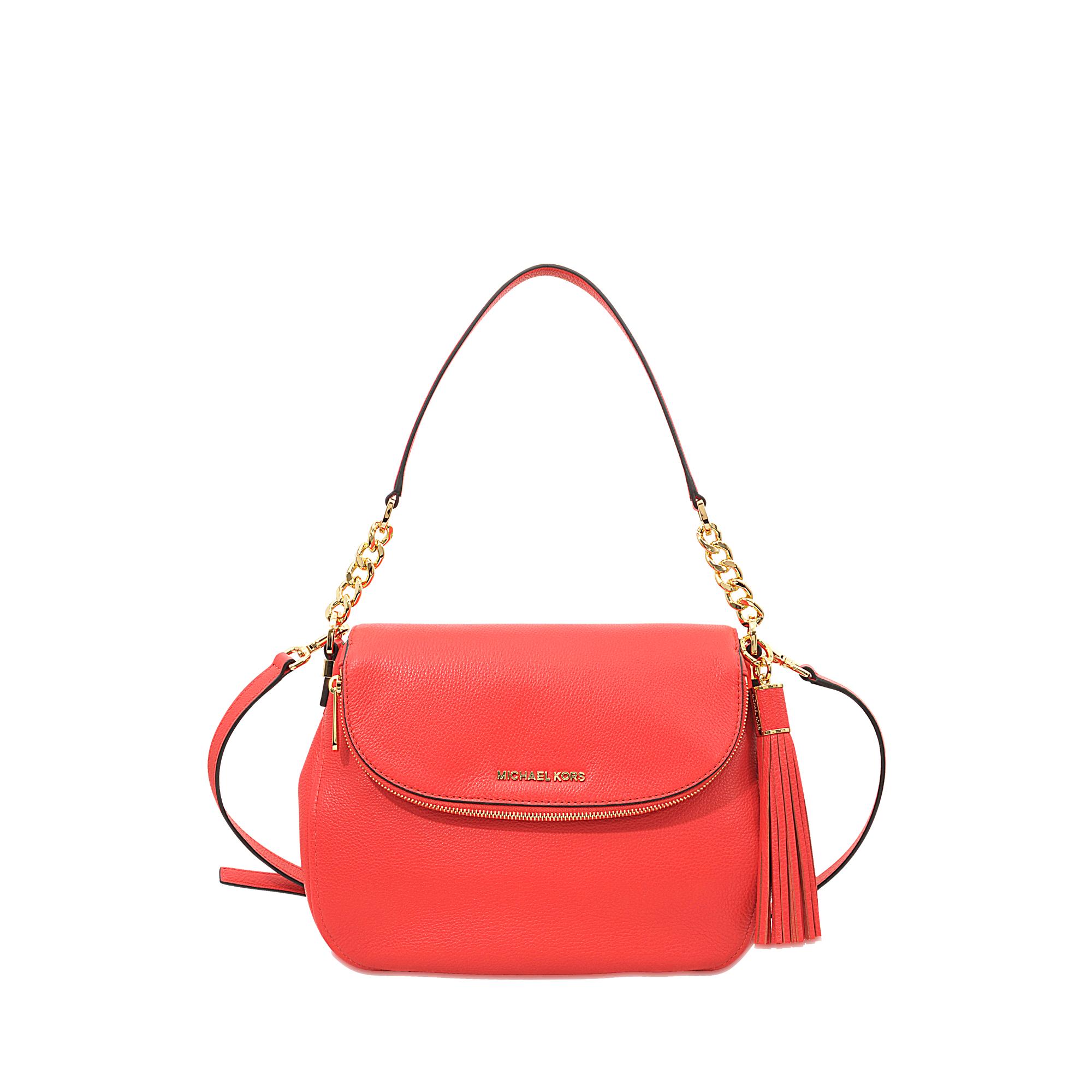 c79ea5530389f8 MICHAEL Michael Kors Bedford Medium Tassle Congreenible Shoulder Bag ...