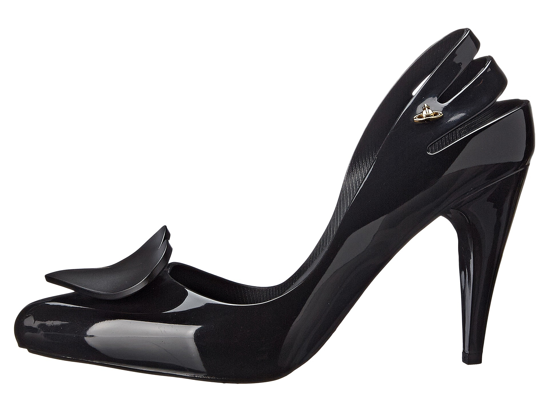 905a0bf32439 Lyst - Vivienne Westwood Anglomania + Melissa Classic Heel in Black