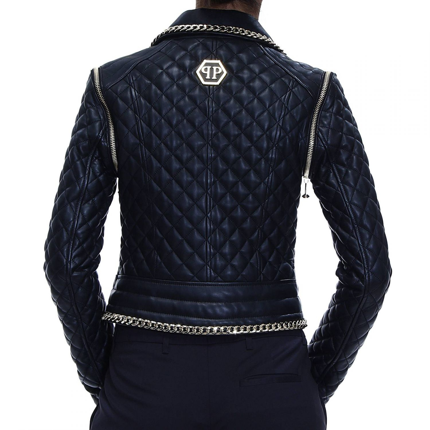 2eae2fa62f0 Philipp Plein Jacket Woman in Black - Lyst