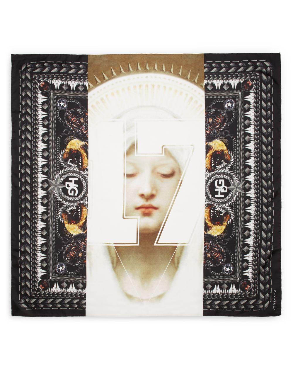 Madonna Givenchy Givenchy Madonna Imprimir Imprimir bufanda wqgtxYZ