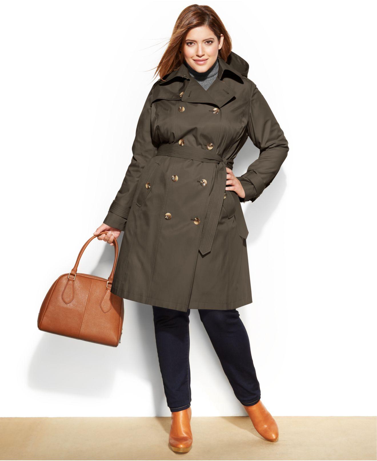 391fc20cf Plus size trench coat / New Deals