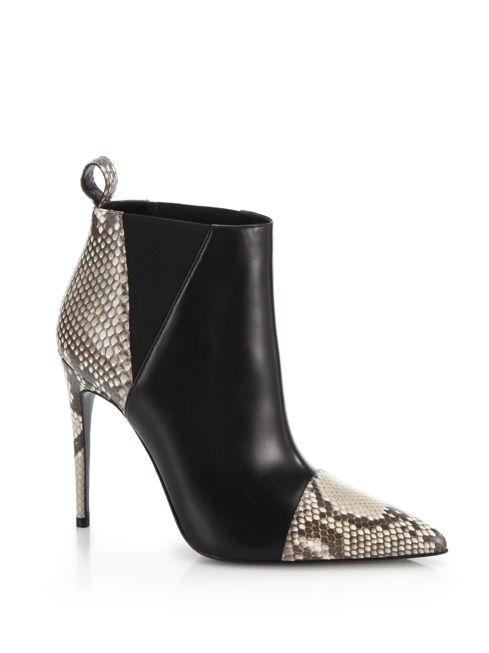 how to make snakeskin boots