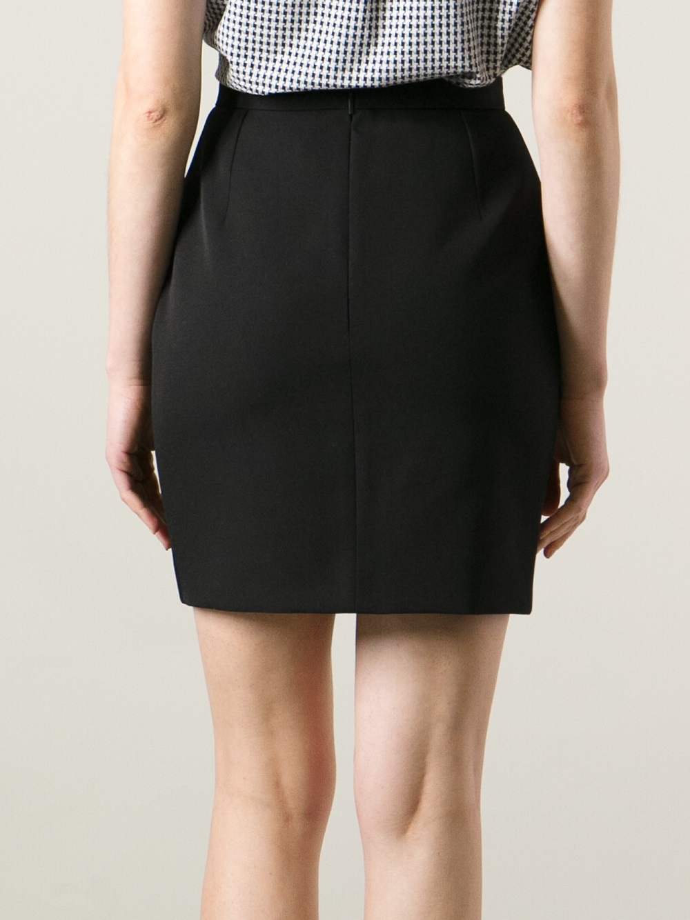 Short Pencil Skirt Black | Jill Dress