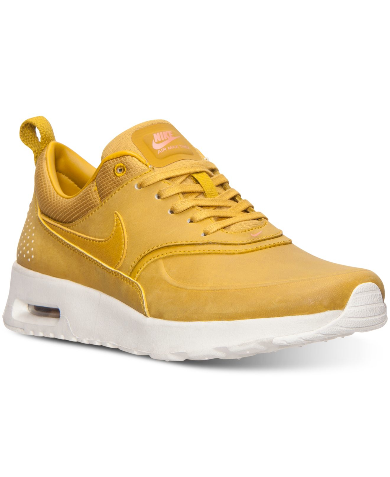various colors a824a ba6ab ... germany lyst nike womens air max thea premium running sneakers from  34c14 9d842