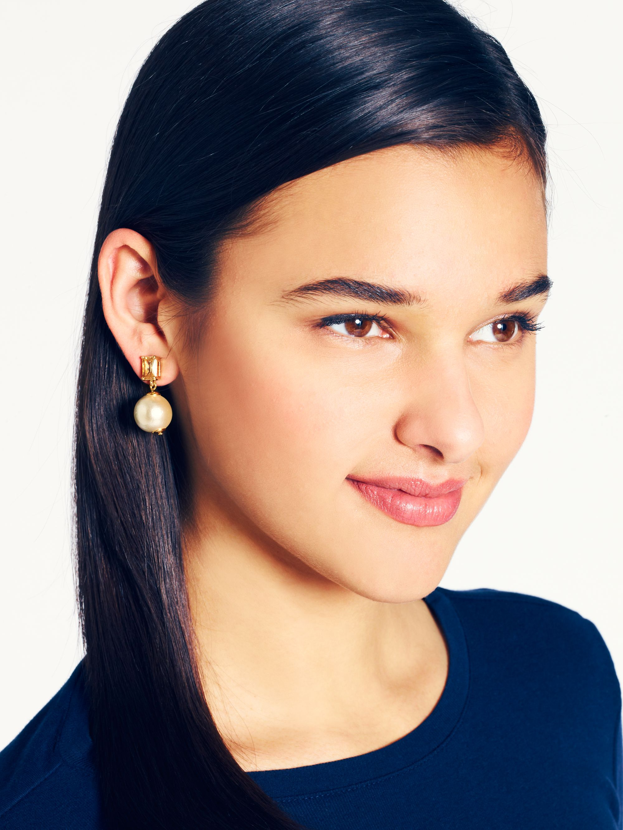 main pin rosy outlook statement earrings image spade new york kate