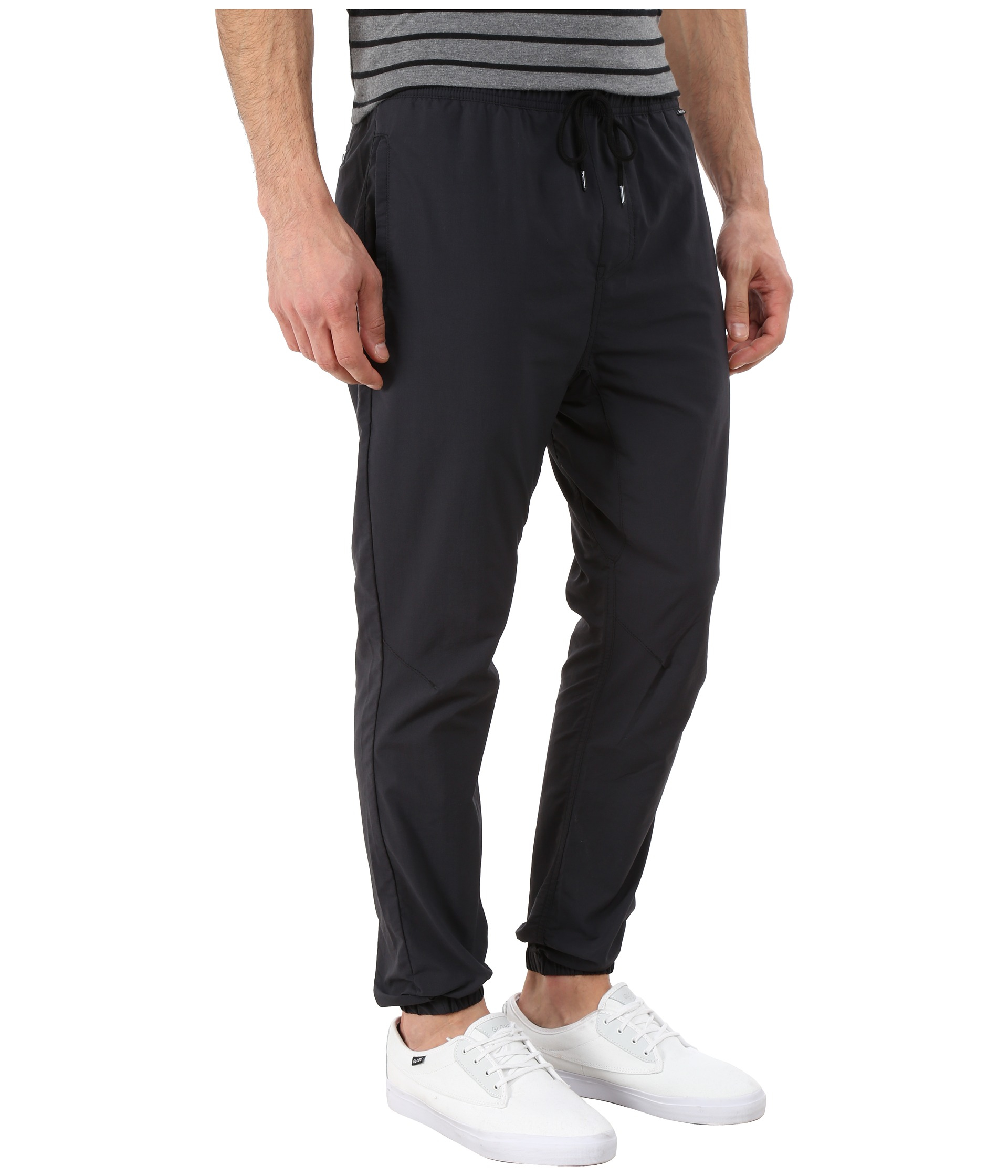 0d2fad300b1 Hurley Dri-fit Drifter Jogger in Black for Men - Lyst