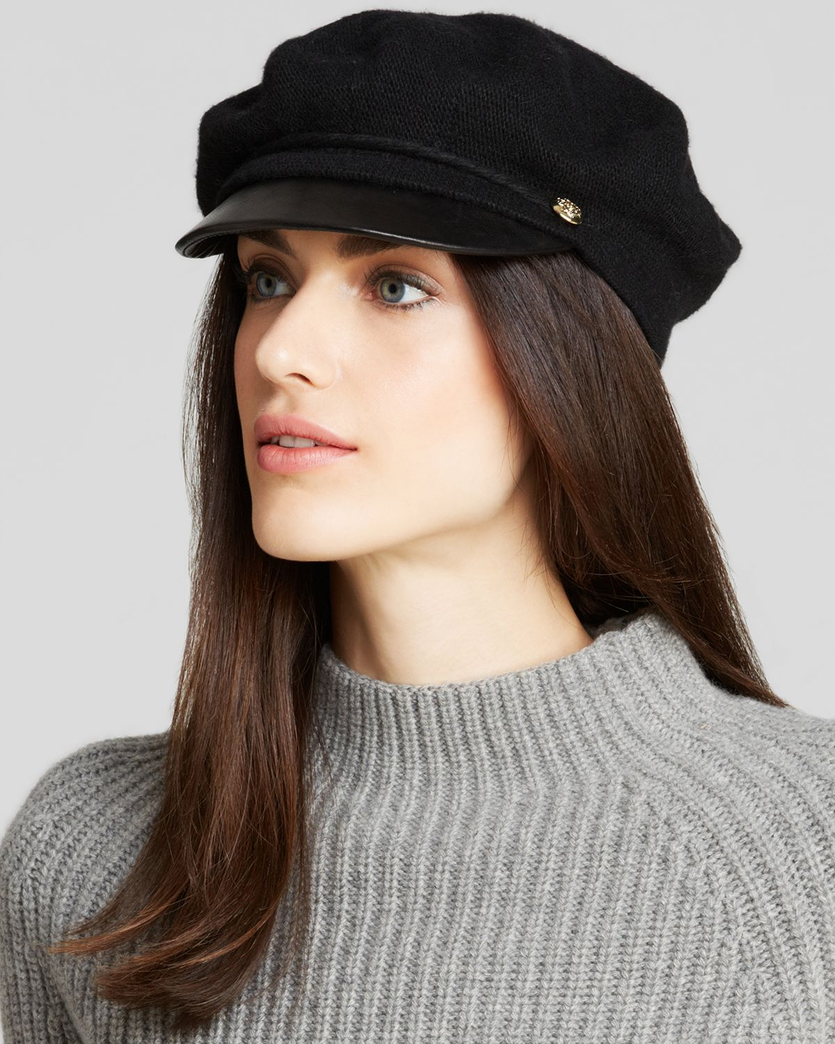 by ralph fisherman hat with leather
