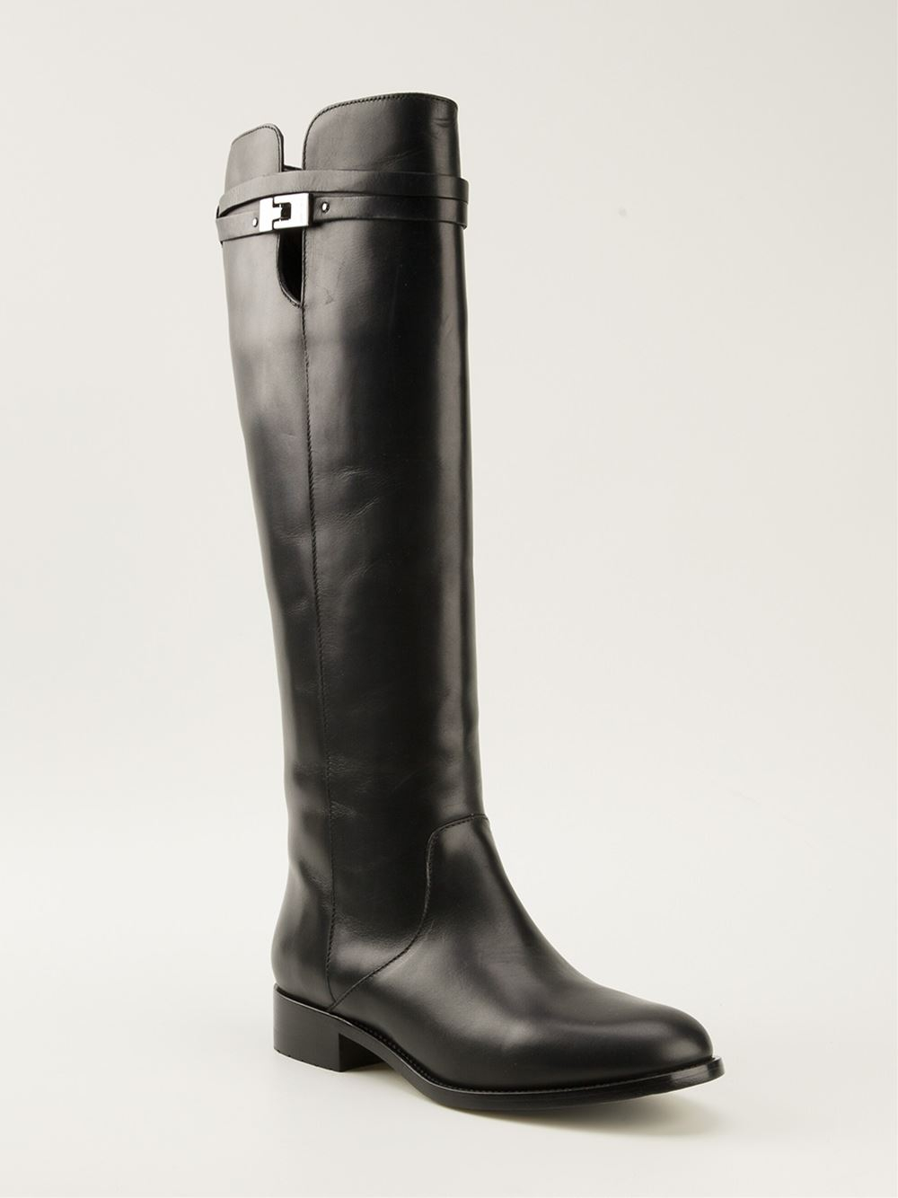Jimmy choo 'hyson' Boots in Black | Lyst