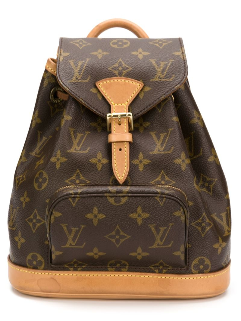 0247da9b0d7b Lyst Louis Vuitton Monogram Backpack In Brown For Men