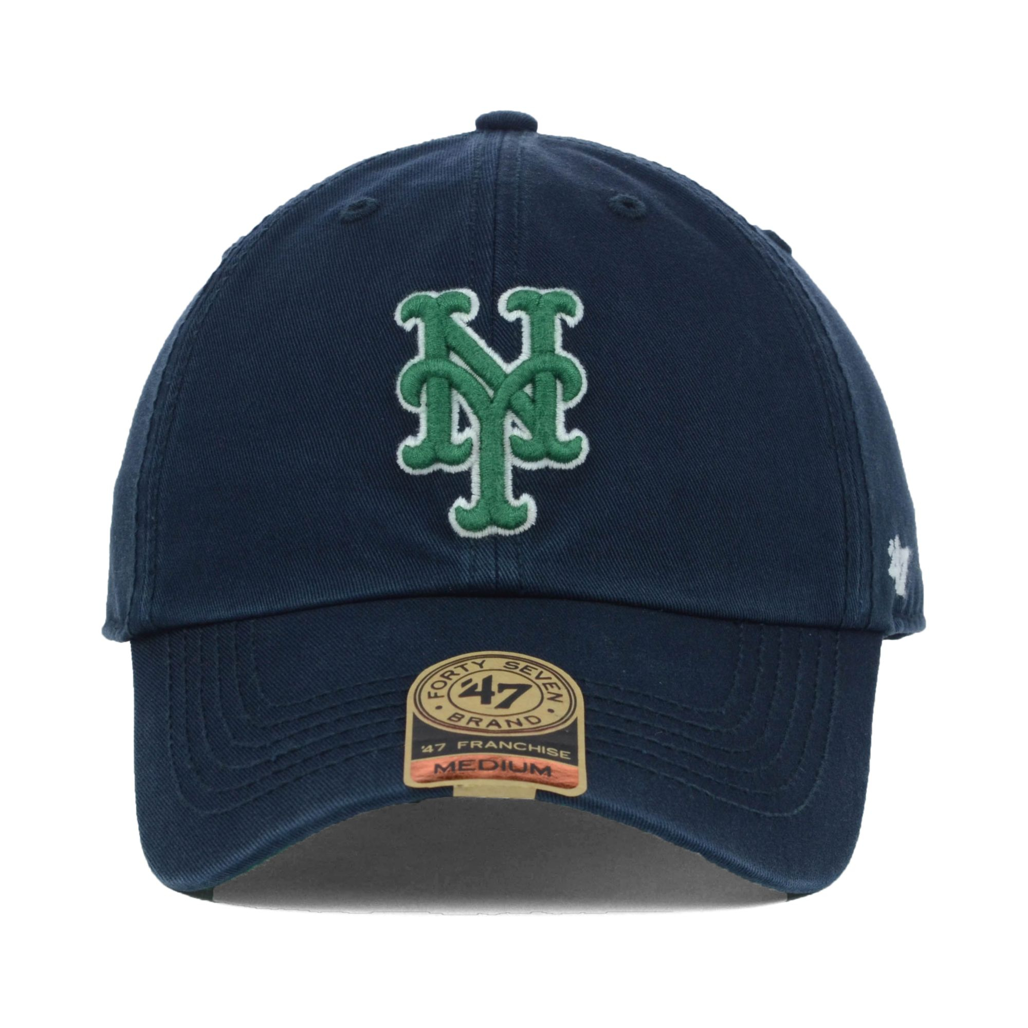 3f5671a58a8 ... ireland lyst 47 brand new york mets mlb dublin cap in blue for men  c50be cf16e