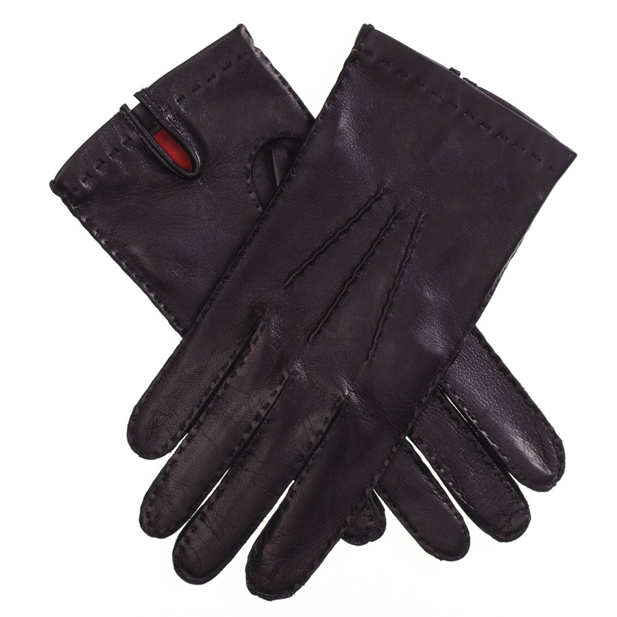 John lewis ladies black leather gloves - Gallery