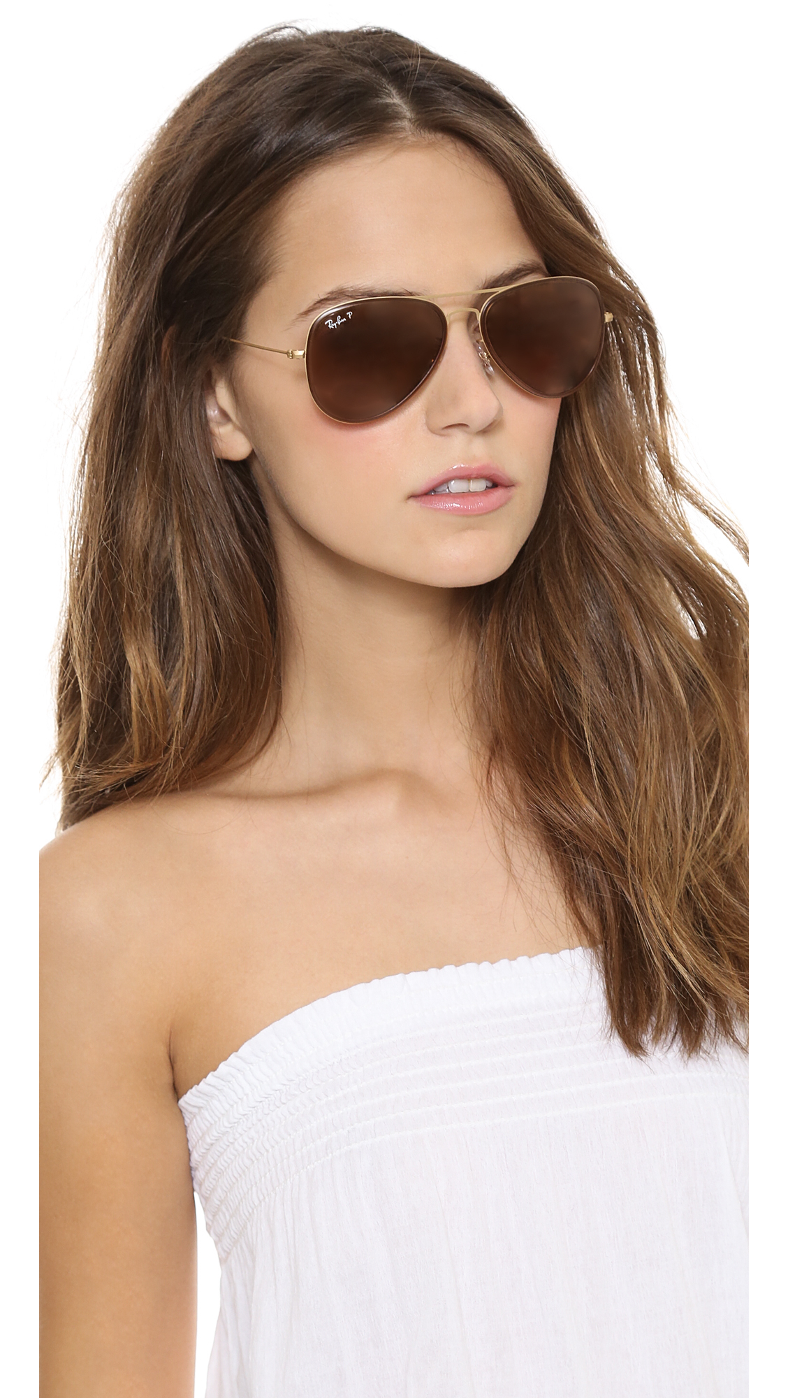 ray ban erika sunglasses sand  gallery